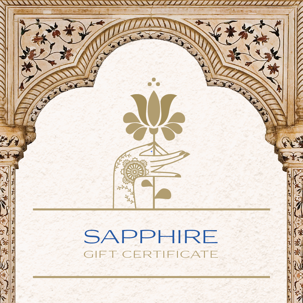 Sapphire Day Spa Gift Certificate